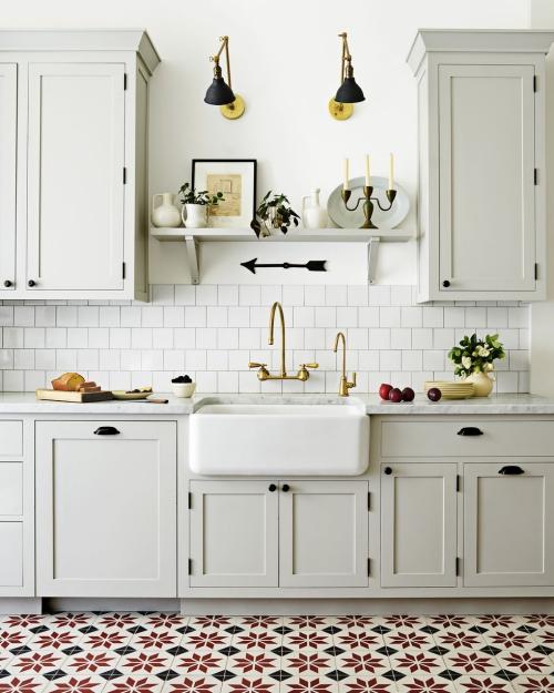 Idées pour petite cuisine espace compact symétrique