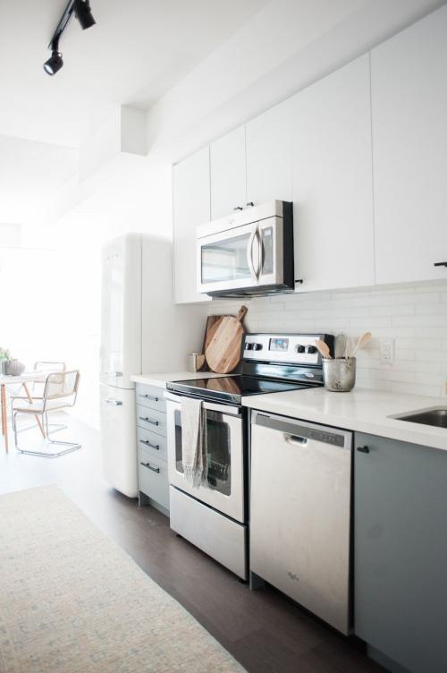 Idées pour petite cuisine petit espace pour le coin-cuisine