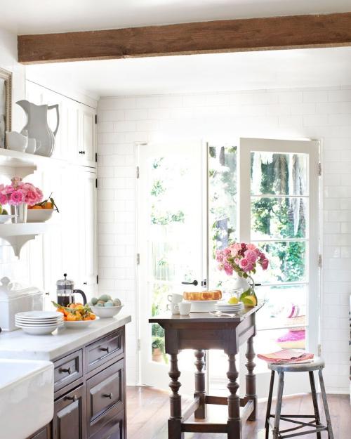 Idées pour petite cuisine style rustique