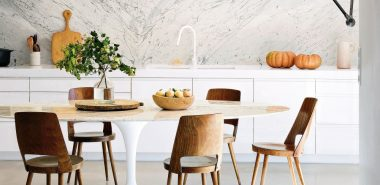 Salon avec salle à manger : cohabitation de style et d\'élégance