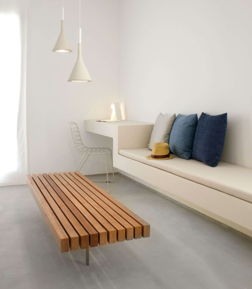 aménagement petit espace lit pour détente