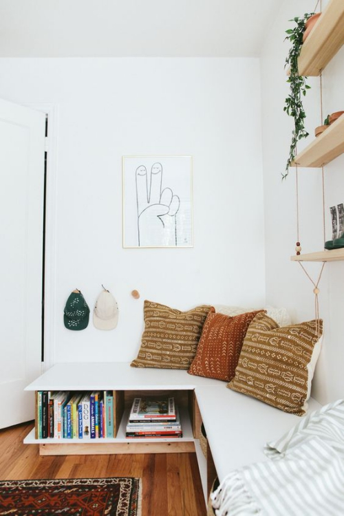 Aménagement Petit Espace Murs Et Plafond Blancs
