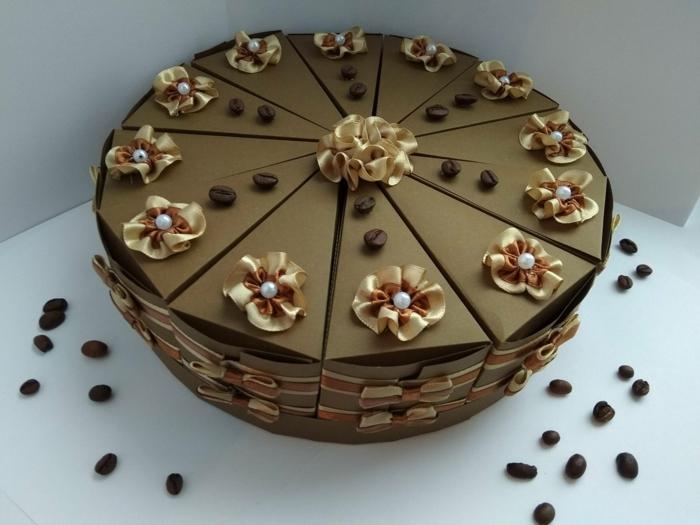boite dragées gâteau pour un anniversaire