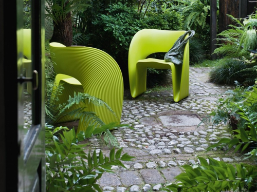 chaises de jardin design extraordinaire