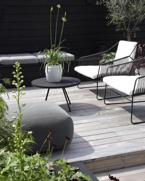 chaises de jardin look filatoire