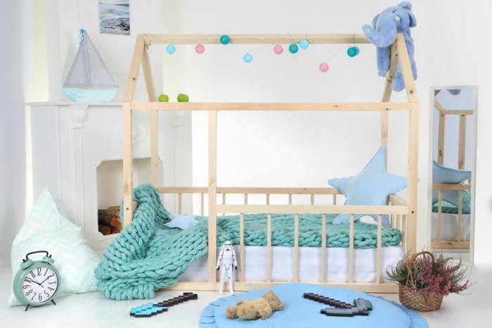 comment faire un lit cabane montessori