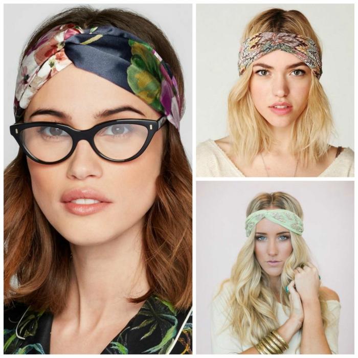 comment nouer foulard cheveux