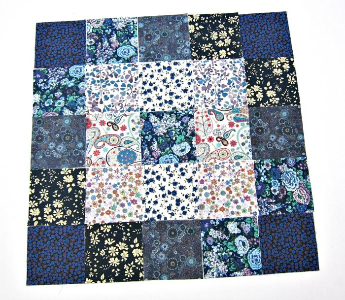 coussin patchwork diy