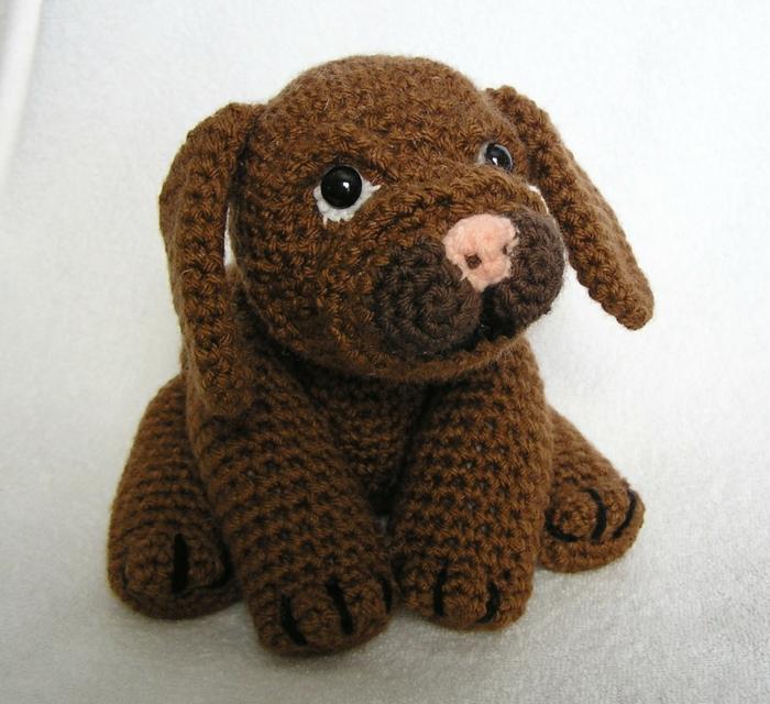 débuter au crochet amigurumi modèle chien