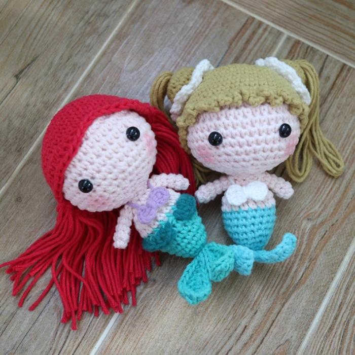 débuter au crochet amigurumi modèle poupée fille