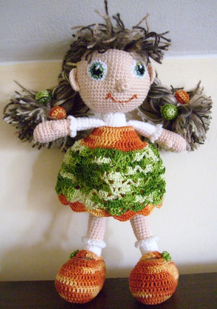 débuter au crochet amigurumi modèle poupée
