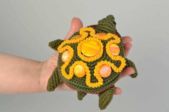 débuter au crochet amigurumi modèle tortue
