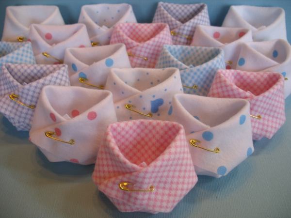 décoration baby shower couches de bébé diy