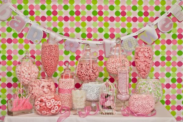décoration baby shower pour bébé fille