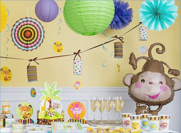 décoration baby shower thème animaux
