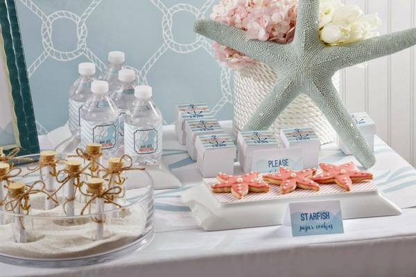décoration baby shower thème bord de mer