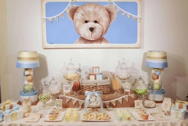 décoration baby shower thème petit ours