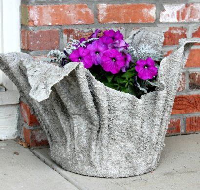 cache-pot ciment