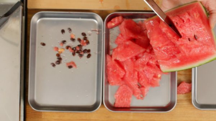 diy kakigori pastèque glace pilée