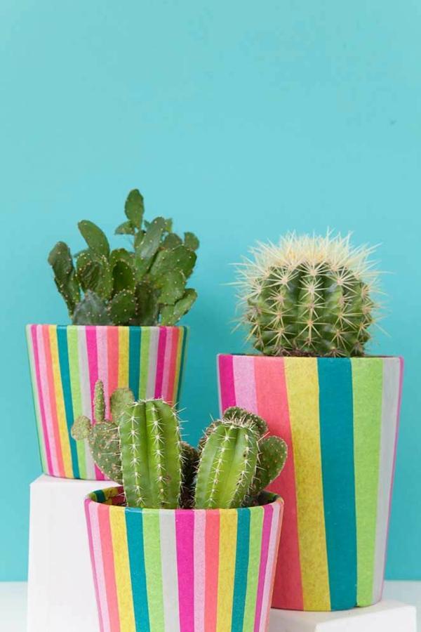 diy papier décoratif cache-pot pas cher