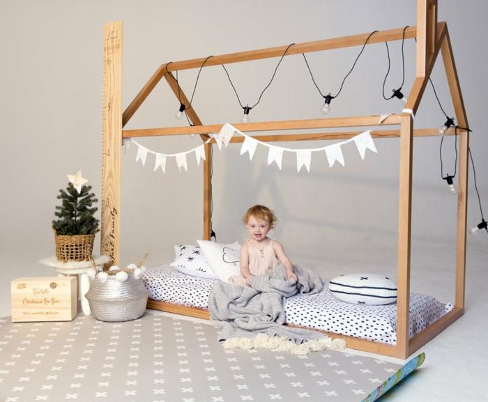 fabriquer un lit cabane montessori