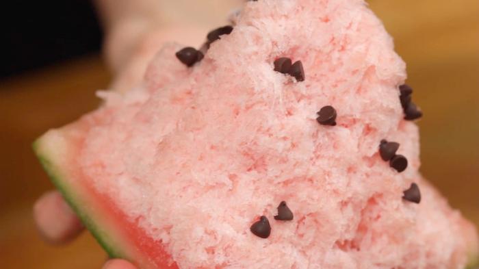 glace pilée japonaise kakigori
