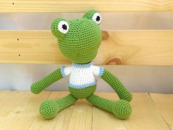 grenouille débuter au crochet amigurumi modèle