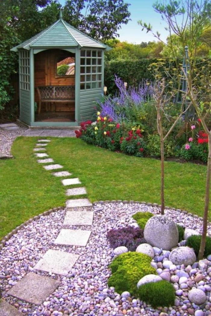 idée cabane de jardin déco petit jardin