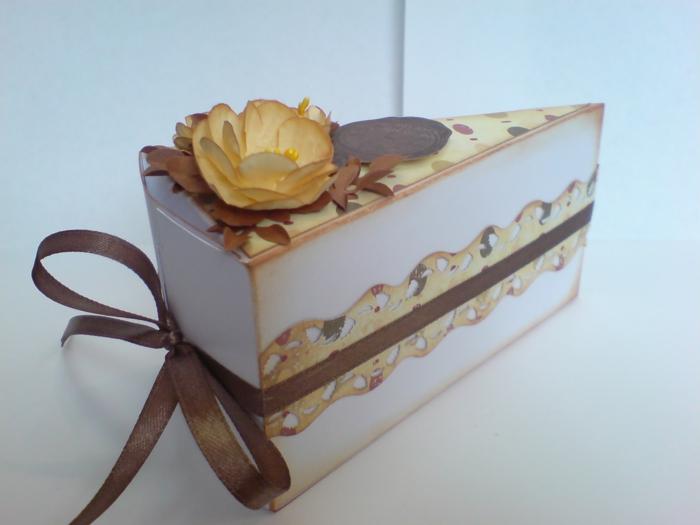 idée comment décorer une boite dragées