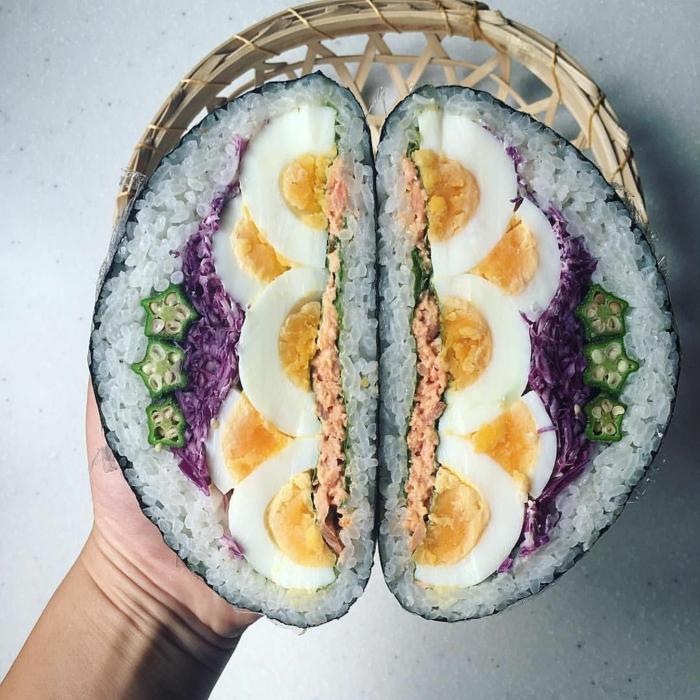 idée comment préparer votre onigirazu