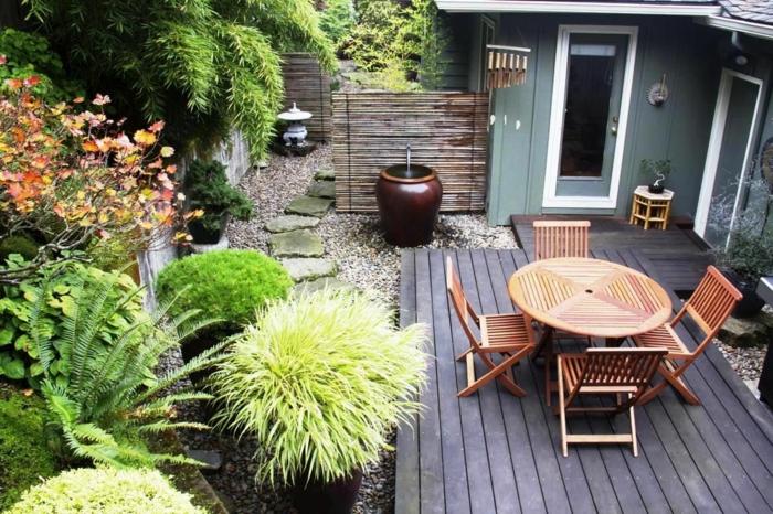 idée de déco petit jardin zen