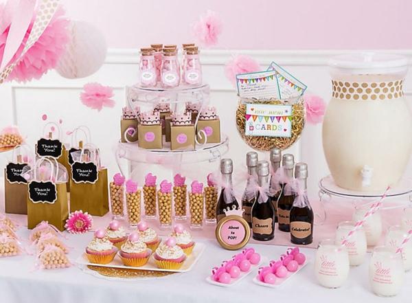 idée de décoration baby shower