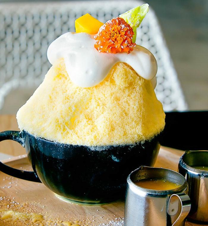 idée dessert été kakigori mango