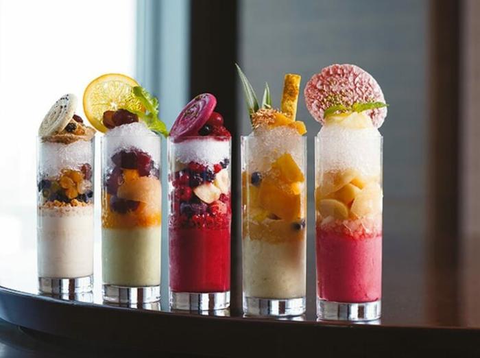 idée dessert rafraîchissant été kakigori