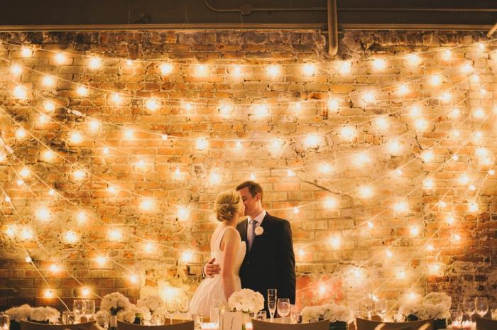 idée pour mariage guirlande guinguette