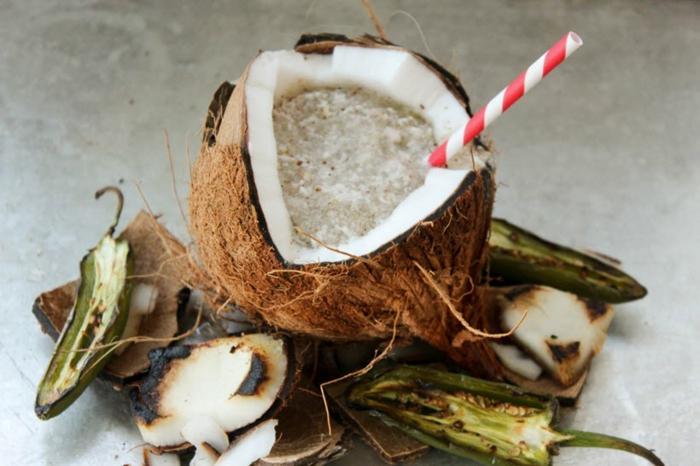 idée recette slushie coco et jalapeño liqueur de café
