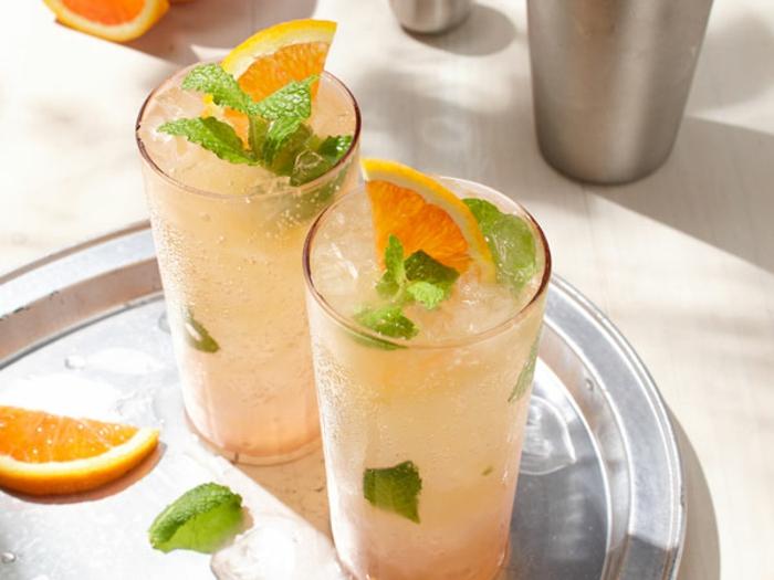 idée recette slushie orange ananas vodka