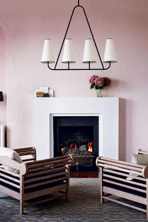idées de petit salon mur en teintes claires