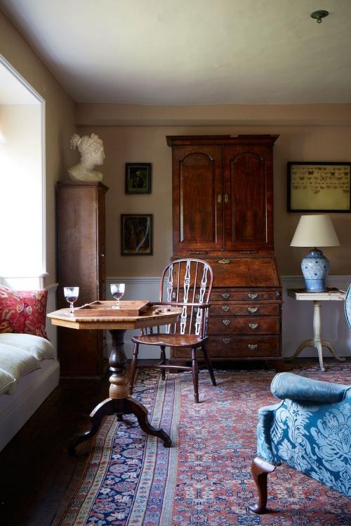 idées de petit salon vintage