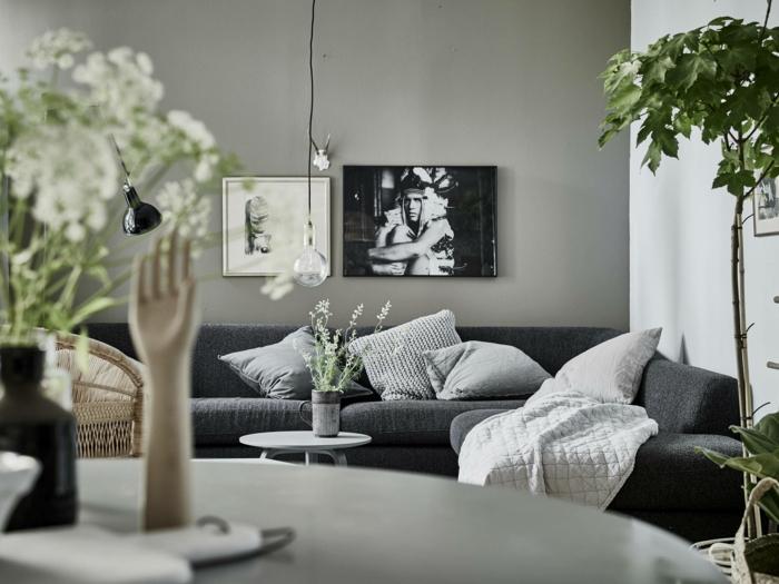 intérieur scandinave kaki gris et blanc quelle couleur va avec le kaki