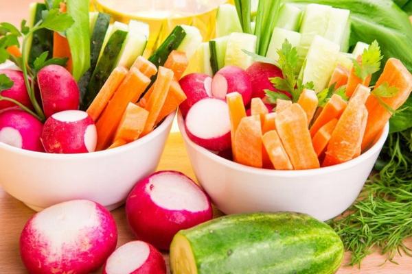 légumes permis régime crudivore