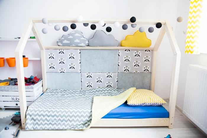 lit cabane montessori déco originale