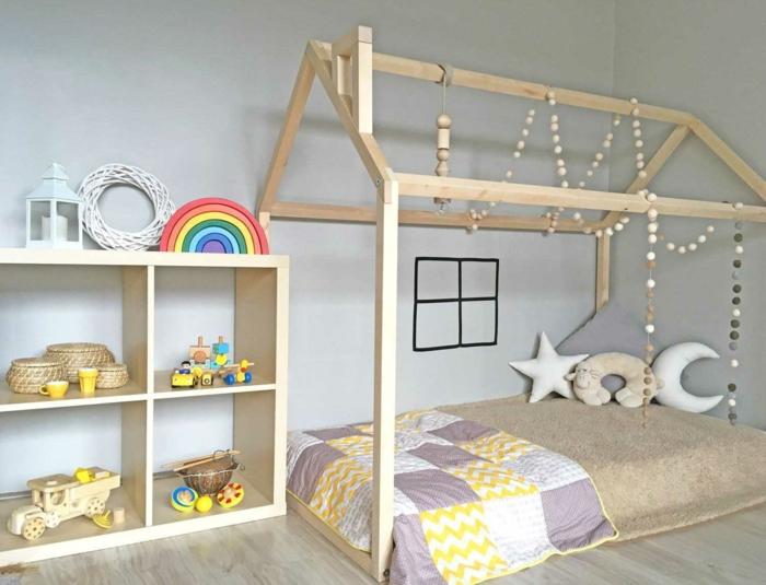 mit enfant lit cabane montessori
