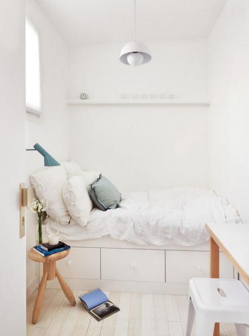 lit pour petit espace chambre étroite