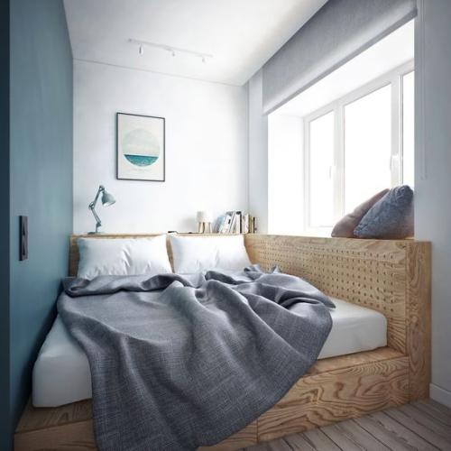 lit pour petit espace grand lit pour deux