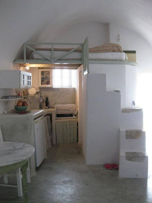 lit pour petit espace maison ancienne