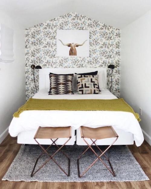 lit pour petit espace sous le toit