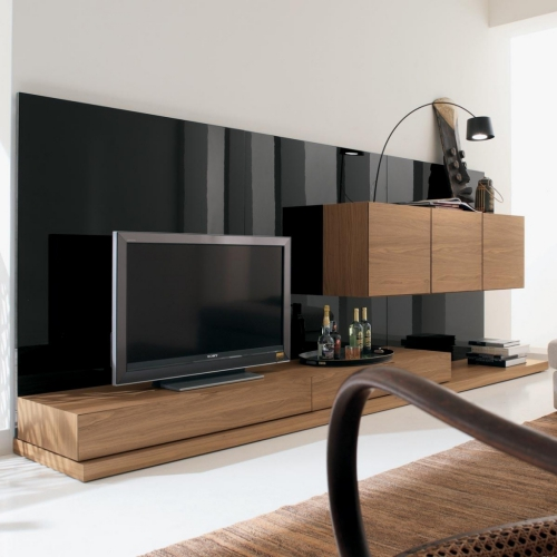 meuble TV joli ensemble en palissandre