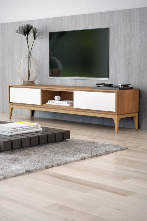 meuble TV joli meuble en bois