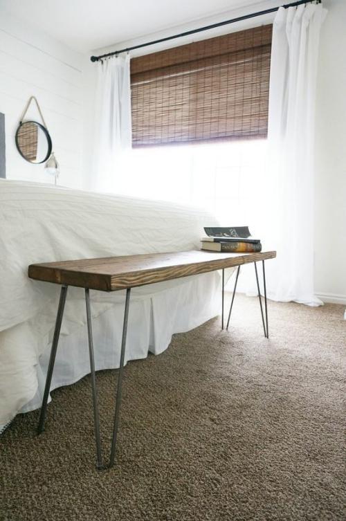 meubles de chambre étagère en bois